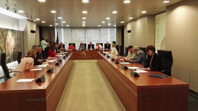 La Mesa y la Junta de Portavoces de la Asamblea Regional