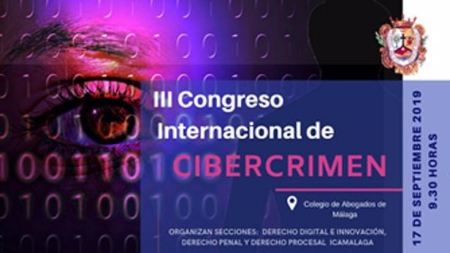 Congreso Cibercrimen del Colegio de Abogados de Málaga