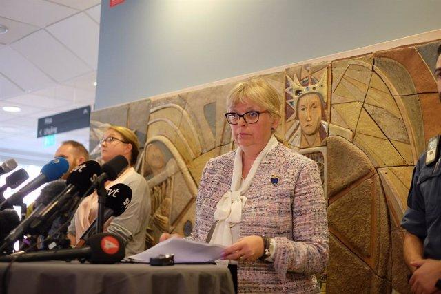 Eva-Marie Persson, fiscal del cas que investiga Assange a Suècia per presumpta violació