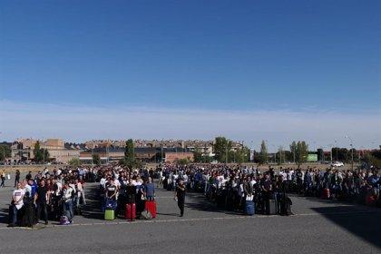 Llegan a la Escuela de Policía 2.900 alumnos con la 'asignatura' de ahorrar agua