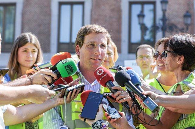 Recursos del alcalde de Madrid José Luis Martínez-Almeida