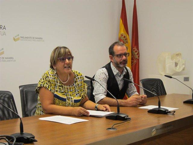Marisa de Simón e Iñaki Bernal.