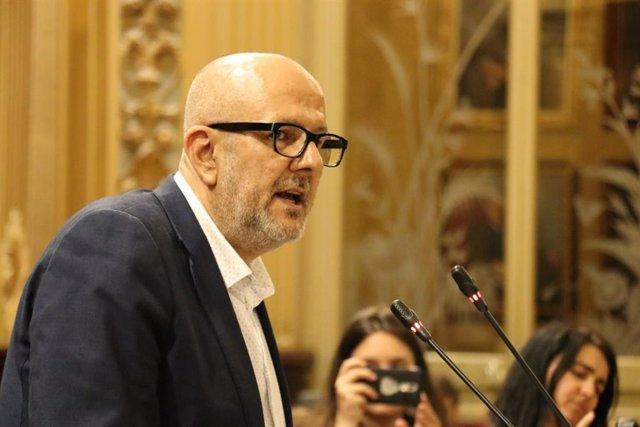 El portaveu MÉS per Mallorca, Miquel Ensenyat.