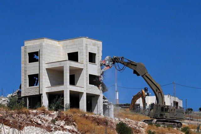 Demolición de viviendas palestinas en Jerusalén Este