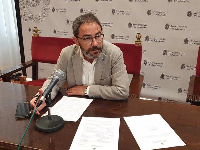 El concejal del PSOE Miguel Ángel Fernández Madrid