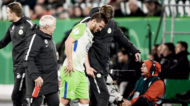 Ignacio Camacho con el Wolfsburgo