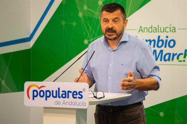 Toni Martín, este lunes