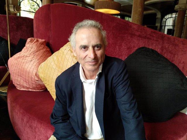 El escritor Ildefonso Falcones en el Hotel Casa Fuster