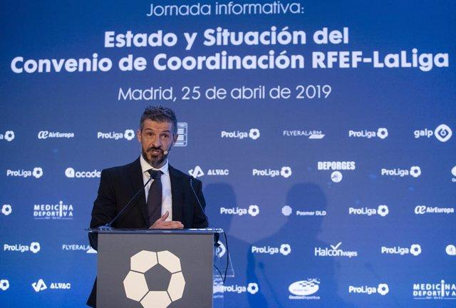 Fútbol.- ProLiga reclama al Gobierno el porcentaje de las apuestas deportivas pa
