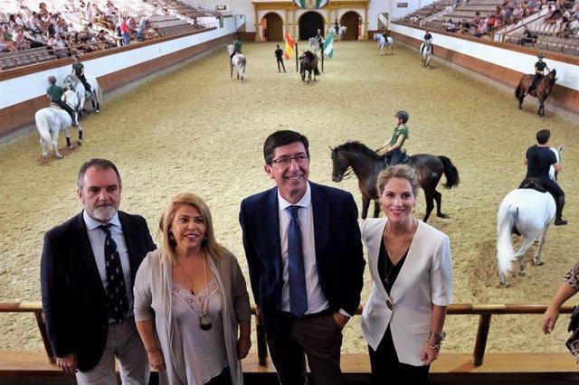 Cádiz.-Turismo.-La Fundación Real Escuela Andaluza de Arte Ecuestre propondrá a