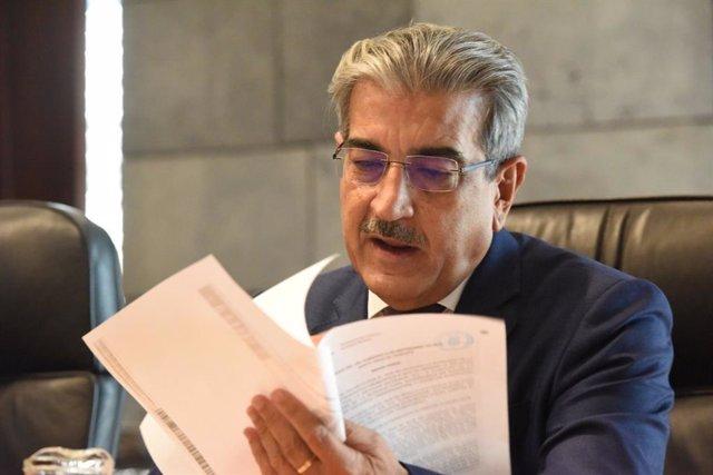 El vicepresidente de Canarias, Román Rodríguez