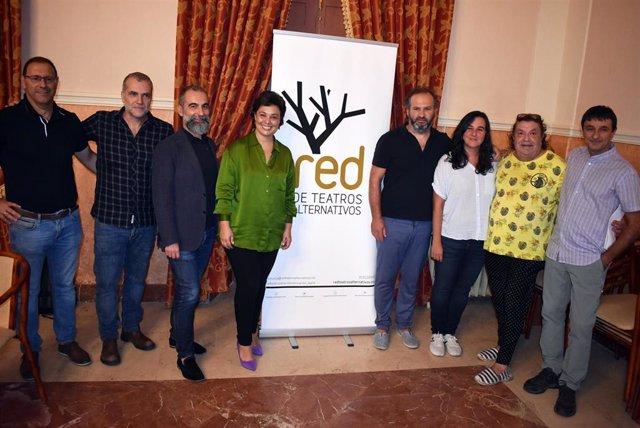 Presentación programación de la Red de Teatros Alternativos en Ciudad Real.