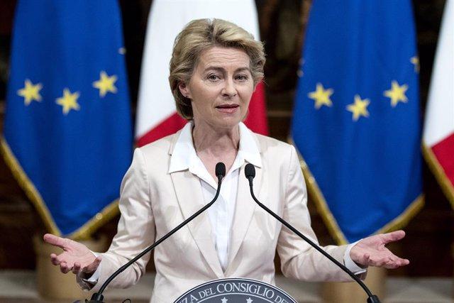 UE.- Von der Leyen desvela este martes el reparto de carteras de la primera Comi