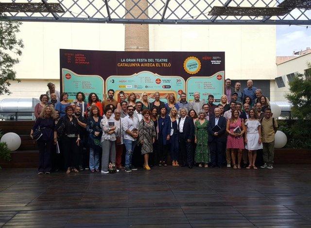 Presentación de Adetca de las estadísticas de la temporada teatral 2018-2019