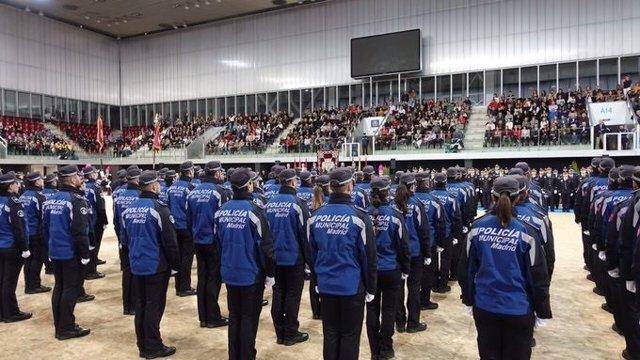Agentes de la Policía Municipal de Madrid. Foto de Recurso