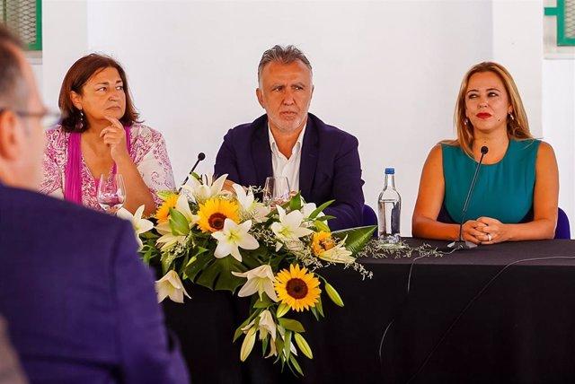 El presidente de Canarias, Ángel Víctor Torres, en la inauguración del curso escolar