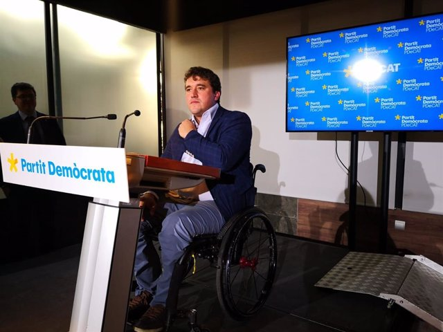 El president del PDeCAT, David Bonvehí