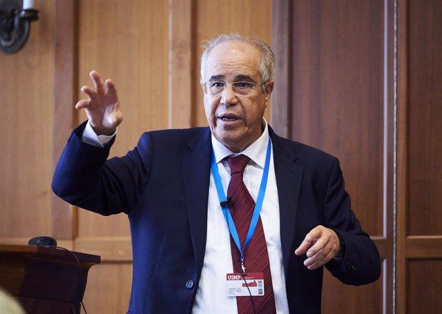 Driss Moussaoui, presidente de la Federación Internacional de Psicoterapia
