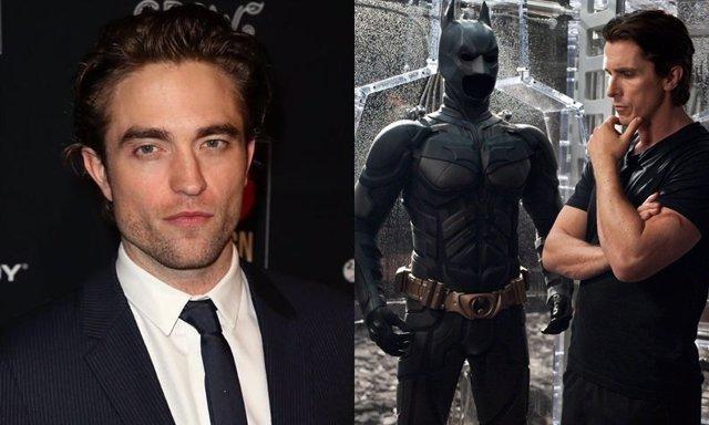 Robert Pattinson y Christian Bale en Batman