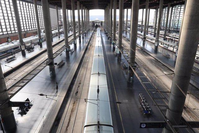 Imagen de archivo de la estación de trenes Puerta de Atocha.