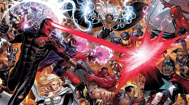 Vengadores vs X-Men en los cómics de Marvel