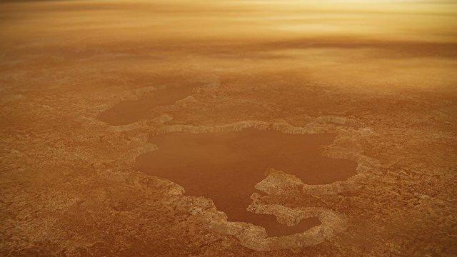 Los lagos de Titán se explican como cráteres de explosión