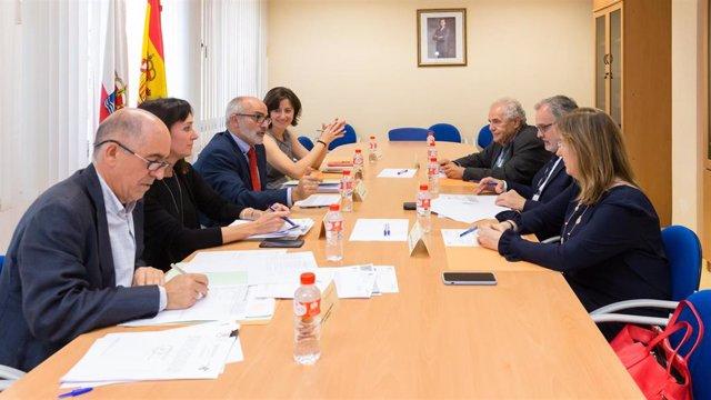 Reunión del Patronato de la Fundación Marqués de Valdecilla (FMV)