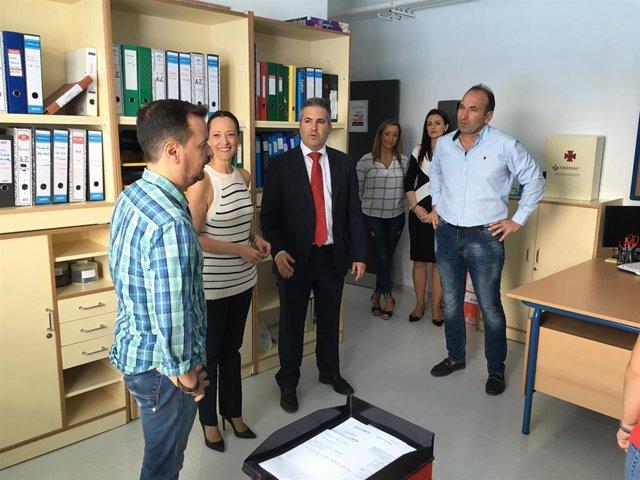Visita al nuevo CEIP San Sebastián