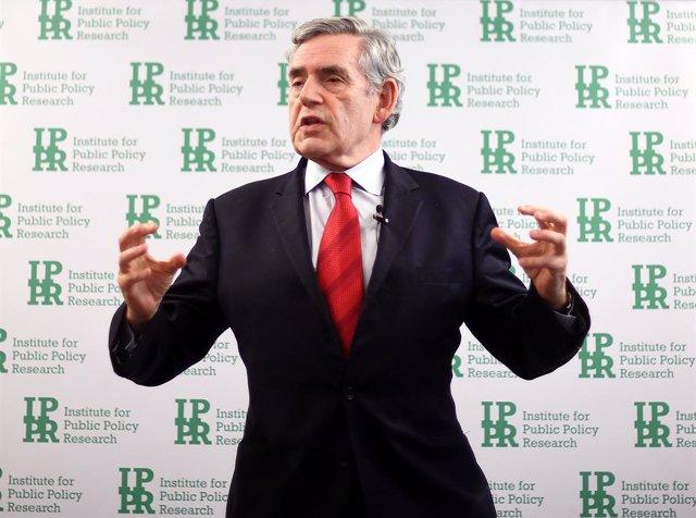 """Brexit.- Gordon Brown advierte de que el Brexit podría ser """"el mayor autogol en"""