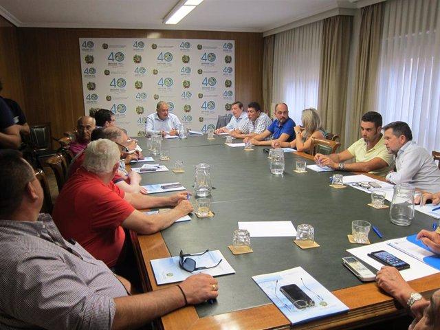 Reunión de la Junta de Gobierno del SCRATS