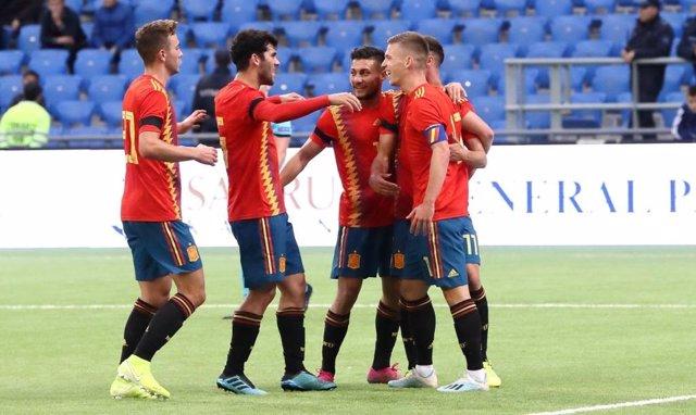 Fútbol/Sub-21.- Previa del España - Montenegro
