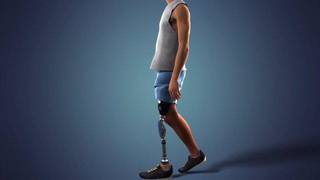 Dos voluntarios son los primeros amputados por encima de la rodilla en el mundo que sienten su prótesis de pie