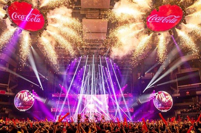Más de 10.000 personas bailaban ayer en el Wizink Center de Madrid en una edición más del Coca-Cola Music Experiencia, la cual contó con grandes estrellas de la talla de Rita Ora o Becky G. Aunque los grandes protagonistas de la velada fueron otros