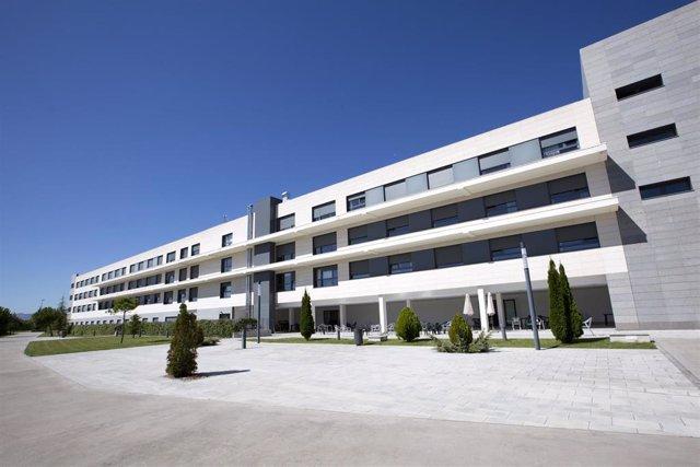 Edificio Hekania, propiedad de Healthcare Activos
