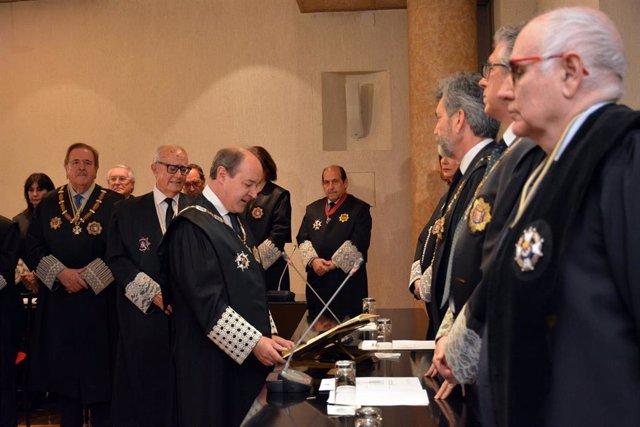 Celso Rodríguez toma posesión como presidente del TSJM