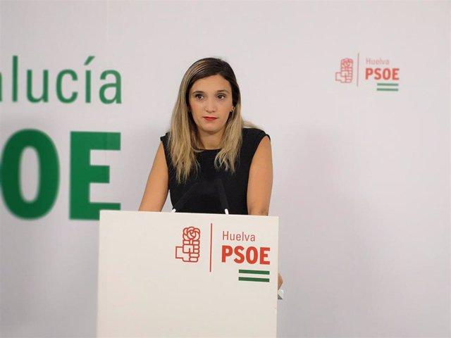 La parlamentaria andaluza por el PSOE de Huelva María Márquez.