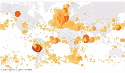 Los super rayos se forman sobre los océanos de noviembre a febrero