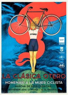 Cartel de La Clásica Otero de 2019 que homenajea a la Mujer
