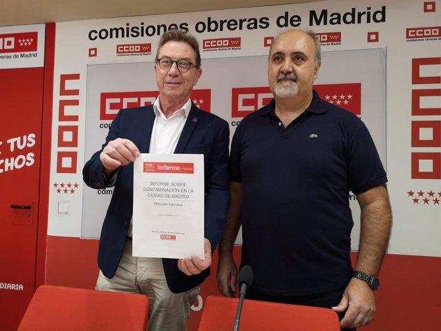 CCOO pide presencia en la Mesa de Movilidad para frenar la contaminación en Madrid