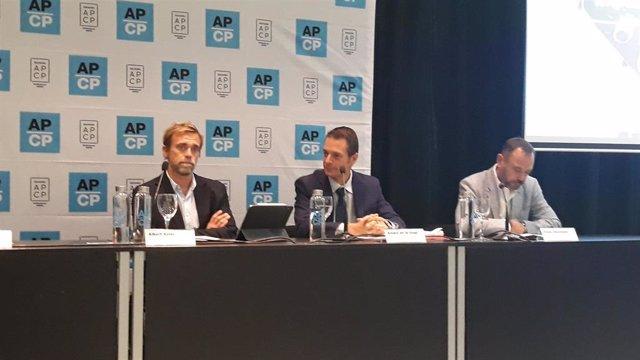 Albert Soler, Álvaro de la Vega y César Vacchiano presentan el estudio sobre la producción de cine publicitario en España 2019
