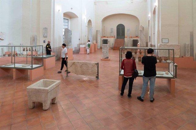 Colección Visigoda del Museo Nacional de Arte Romano de Mérida