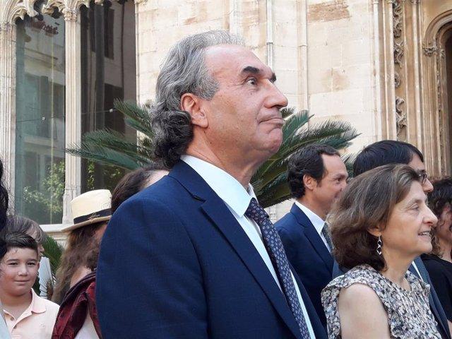 El conseller d'Educació, Universitat i Recerca, Martí March.