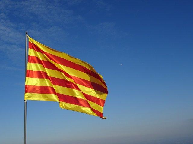Bandera catalana, senyera, Cataluña