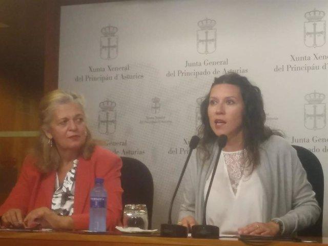 Angeles Fal y Nuria Rodríguez.