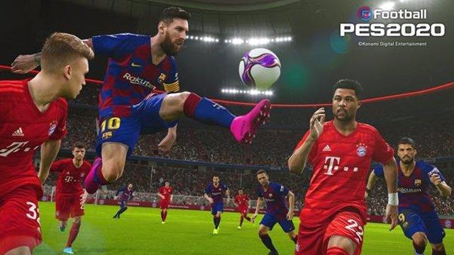 El videojuego eFootball PES 2020, ya disponible en Europa