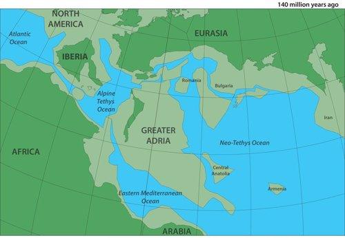 Localización de Gran Adria