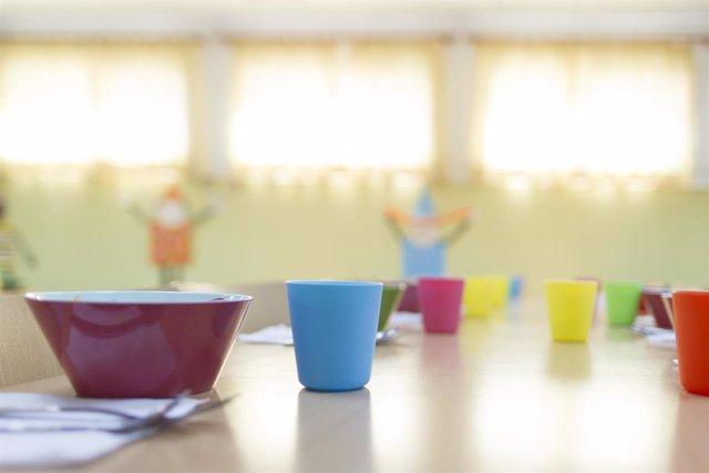 Colegio, escuela, primaria, infantil, niño, niña, niños, comedor escolar