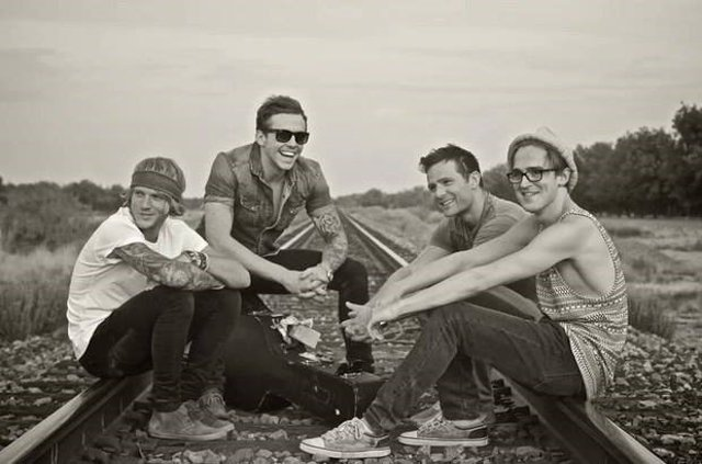 Imagen promocional de McFly