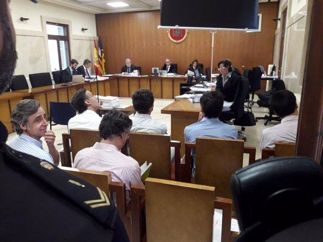 Segunda sesión del juicio a los hermanos Ruiz-Mateos en Palma.