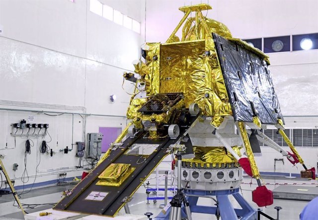 Mòdul d'aterratge lunar indi Vikram i rover Pragryan